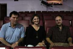Gonzalo González, Marta Aravena y Francisco Stegmeier.