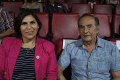 María José Rodríguez y Pedro Cruces.