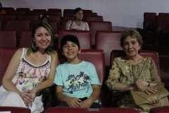 Pamela Soto Aguilar, Vicente Olave y María Eugenia Benavides.