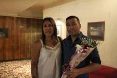 Lucy Contreras y José Luis Acuña.
