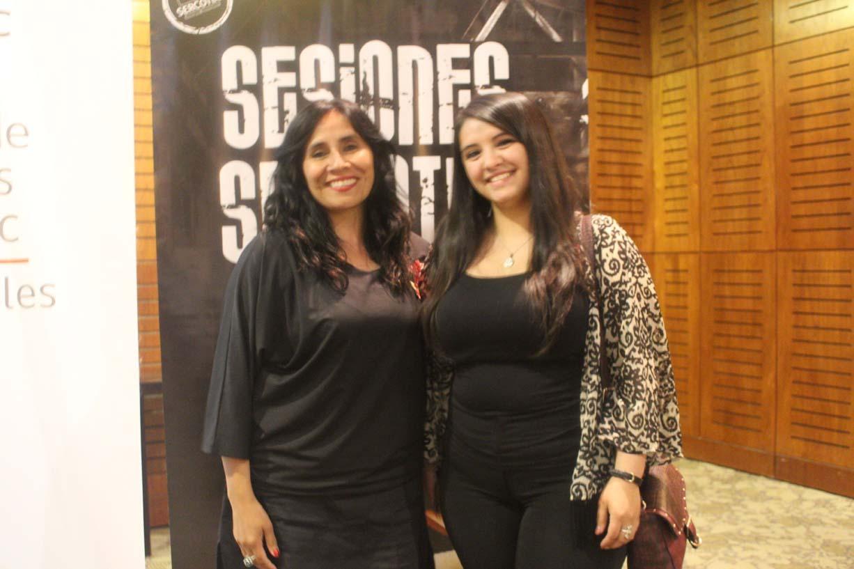 María Marín Novick y Leticia Maldonado