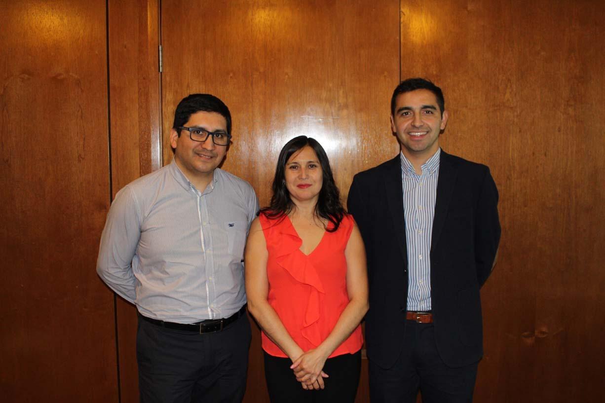 Manuel Velásquez, Marcela Aldea y Julio Garcías