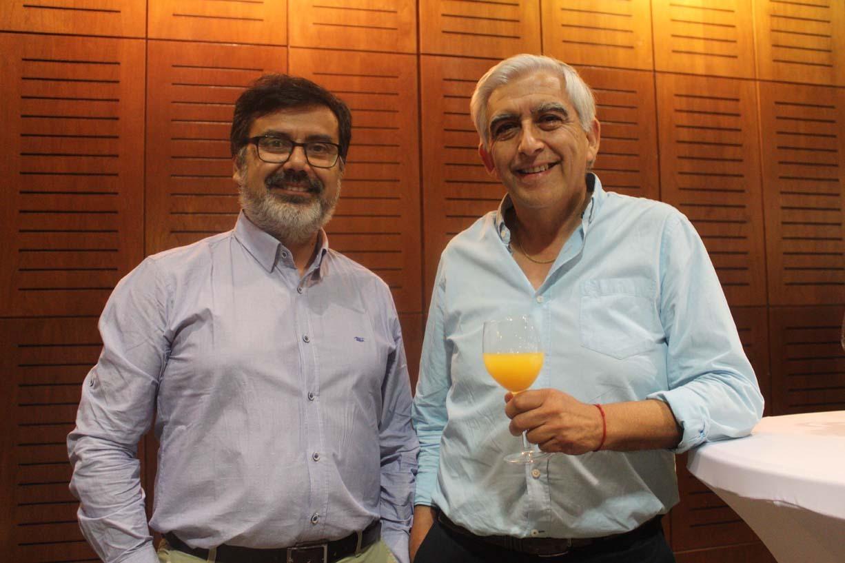 Ricardo Cartes y Renato Leiva