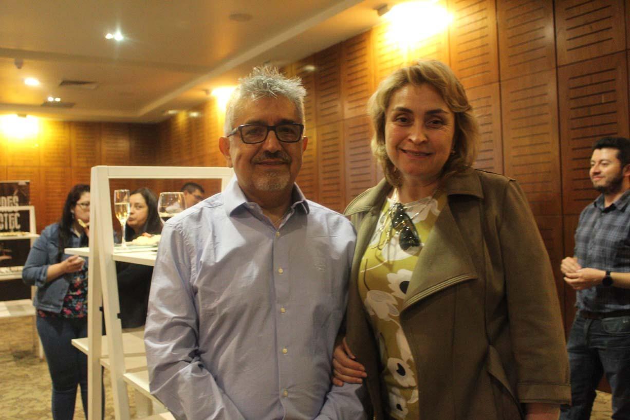 Rogelio Saavedra y Carmen Arriagada