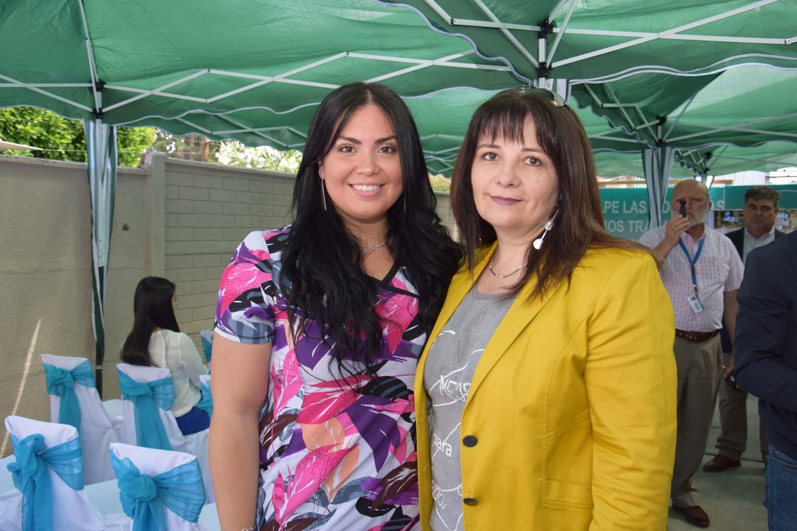 Alejandra Vera y Ana María Muñoz