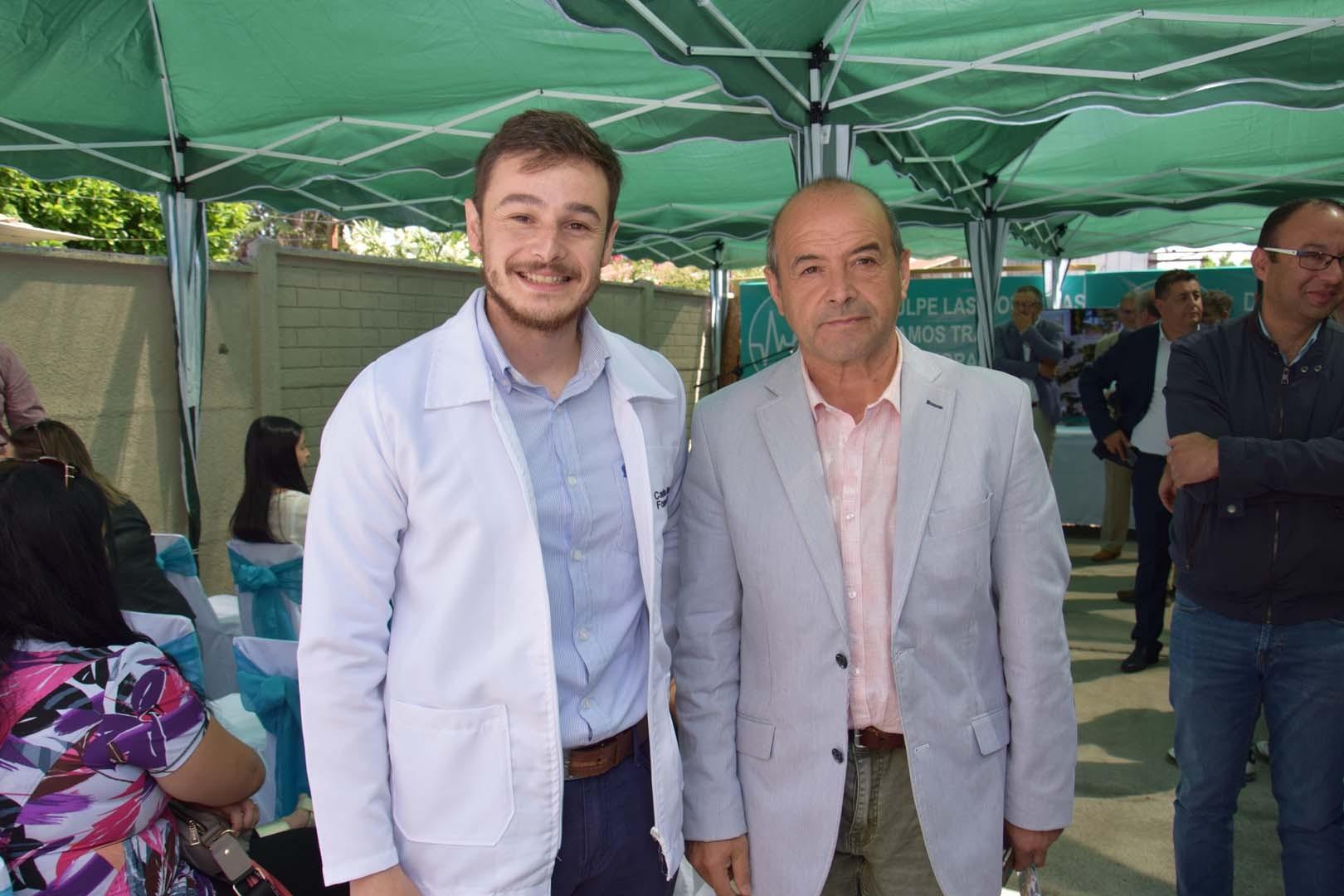 Carlos Neira y Héctor Guzmán