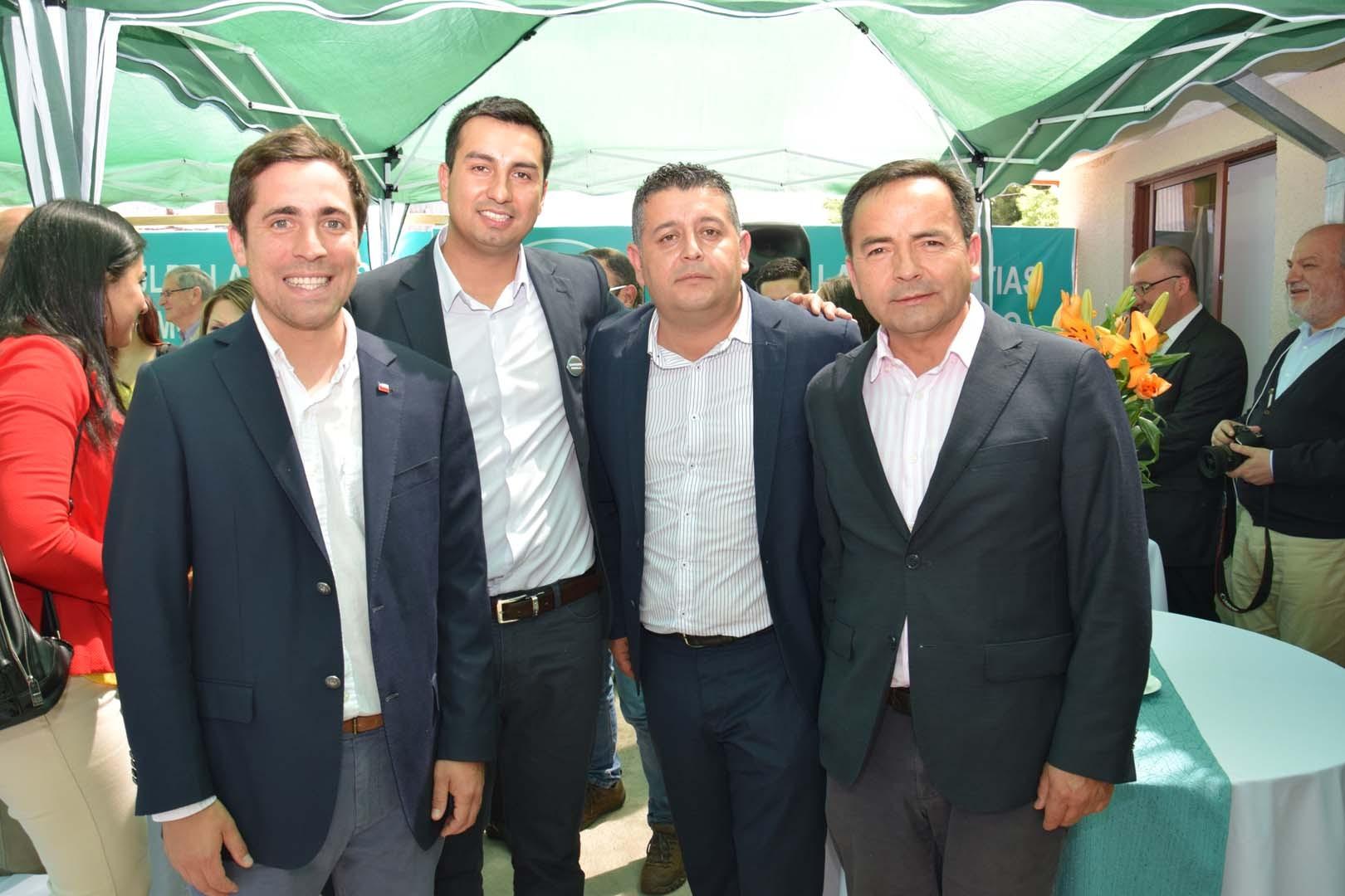 Cristóbal Martínez, Carlos Pinochet, Humberto Fuentes y Daniel Sepúlveda