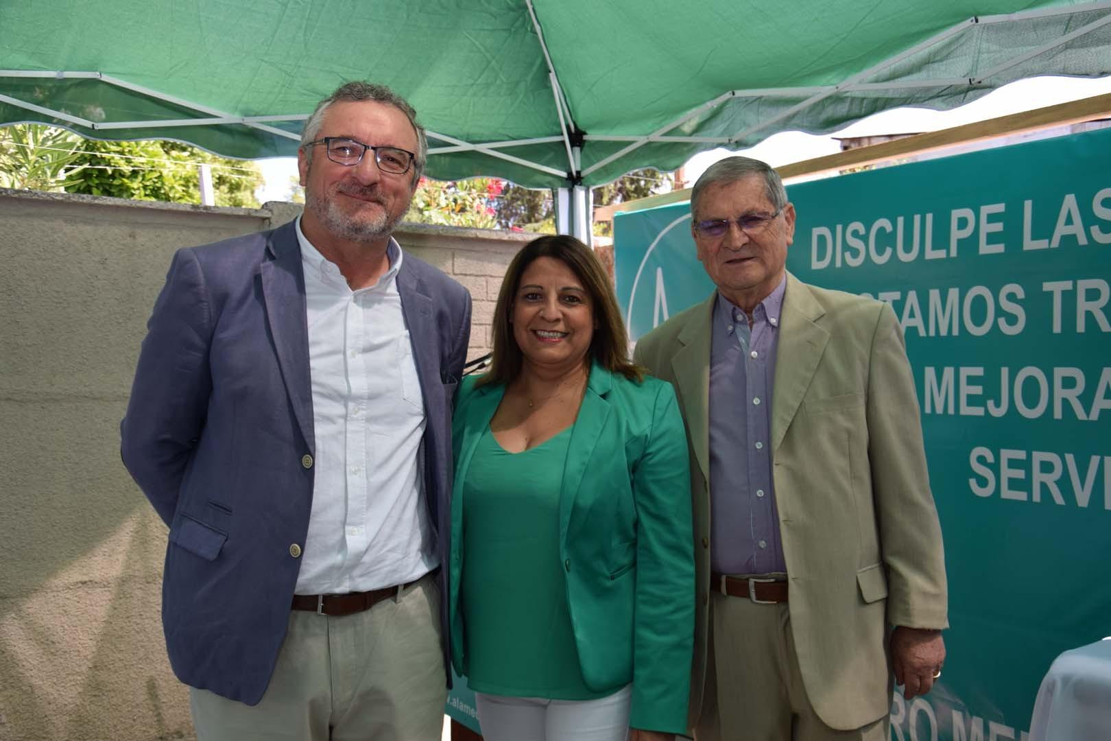 Richard Sepúlveda, Carmen Fuentes y Víctor Sepúlveda