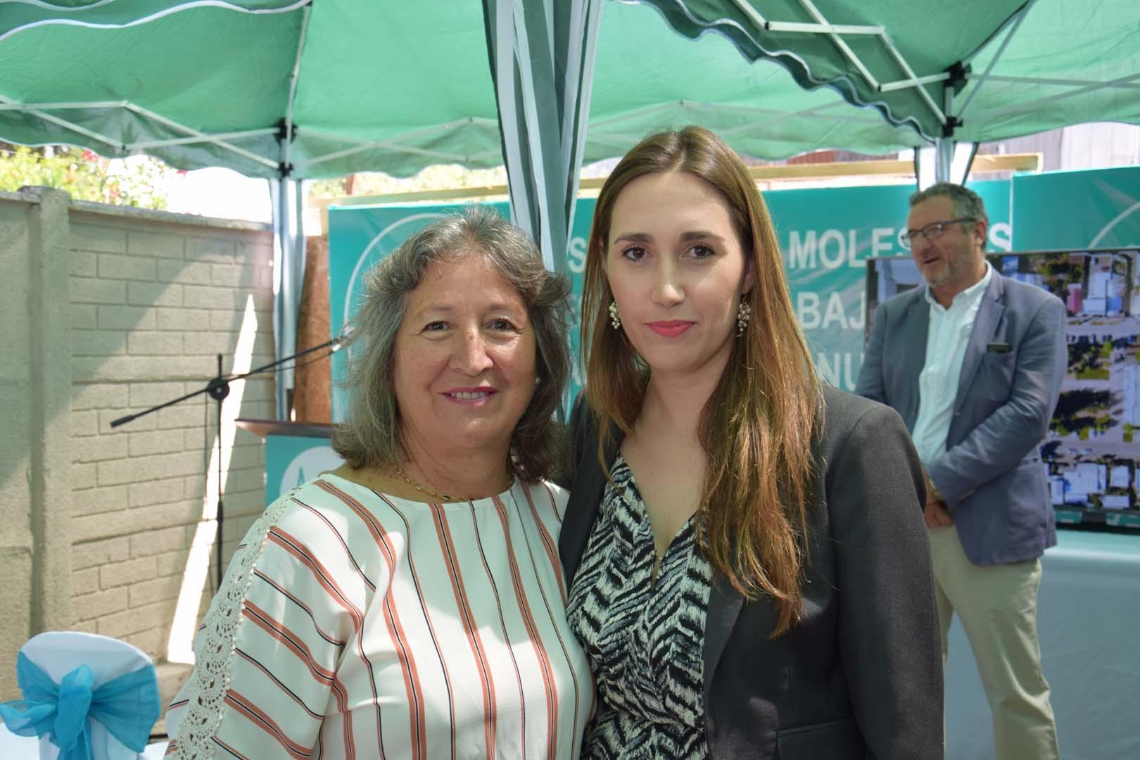Piedad Muñoz y Virginia Subiabre