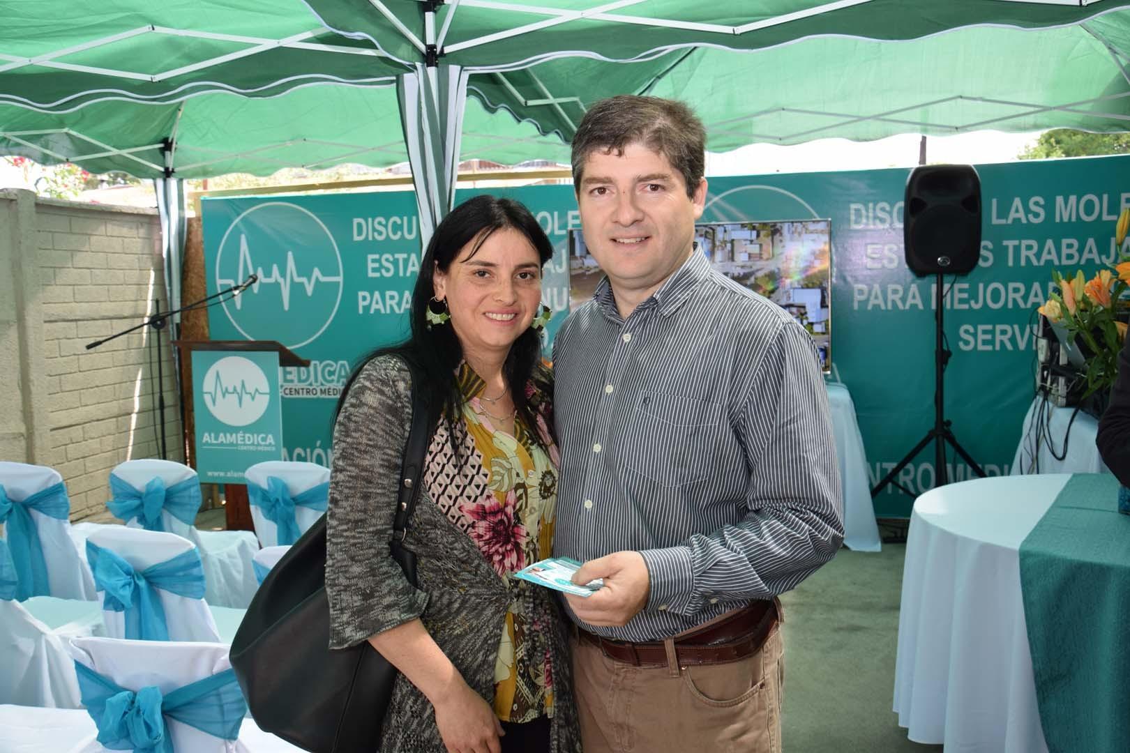 Priscila Duarte y Jorge Gallegos
