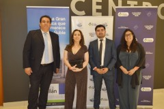 Ricardo Manríquez, Carmen Silvia Riquelme, David Candia y Macarena Inostroza.