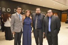 Javier Ferrada, Mónica Jiménez, Sebastián Guajardo y Claudio Contreras.