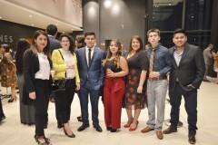 Natalia Alarcón, Carolina Campos, Juan Fernández, Camila Durán, Katherine Arias, Fabián García y Bastián Cofré.