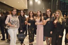 Cecilia Castro, Lissette Ruiz, Carolina Gómez, Kennia Jara, Carolina Erazo y Paulina Rojas.