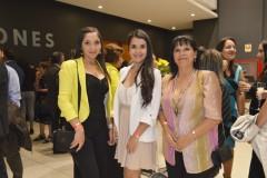 Roxana Aguilera, Jimena Soto y Magaly Sepúlveda.