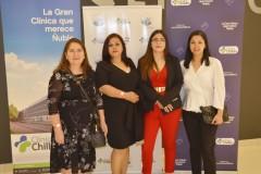 María Garay, Rosa Alarcón, Claudia Chávez y Melisa Fuentes.
