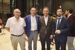 Dr. Oscar Ramos, Dr. Juan Téllez, Dr. Jorge Villagra y Dr. Luis Canales.