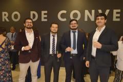 Alexis Caballero, Manuel Bahamondes, Claudio Saa e Ítalo Arias.