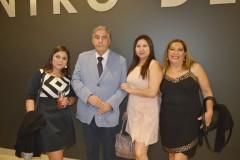 Marianela Rodríguez, Dr. Miguel Chang, Marieta Herrera y Rita Montecinos.