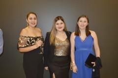 Mariela Fuentes, Sofía Aldana y Gloria Benavides.