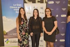 María José Fierro, Lissette Ruiz y Carolina Erazo.