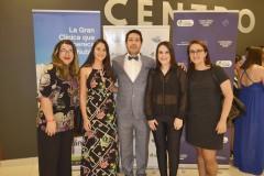 Clara Urra, María José Fierro, Dr. Andrés Rubilar, Lissette Ruiz y Carolina Erazo.