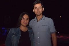 Evelyn Bron y Gabriel Sáez.