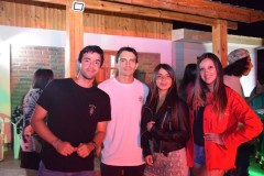 Nicolás Zúñiga, Ivar Lizana, Stefani Castro, Nataly Isla.