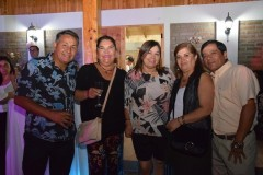 Oscar Jara, Patricia Carrasco, Marcela Lagos, Miriam Aedo, Ewinson Jara.