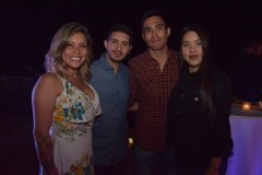 Paulina Astroza, Exequiel Fuentes, Luis Sepúlveda, Poullette Cerna