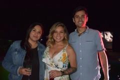 Evelyn Bron, Paulina Astroza, Gabriel Sáez.