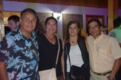 Oscar Jara, Patricia Carrasco, Miriam Aedo, Ermenson Jara.