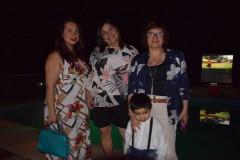 Nataly Barra, Joaquín Arroyo, Marcela Lagos, Tatiana Lagos.