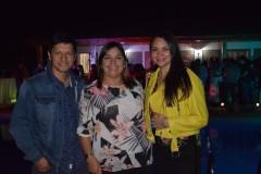 Denis Lagos, Marcela Lagos, Jessica Mardones.