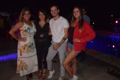 Paulina Astroza, Camila Toro, Víctor Astroza, Nataly Isla.
