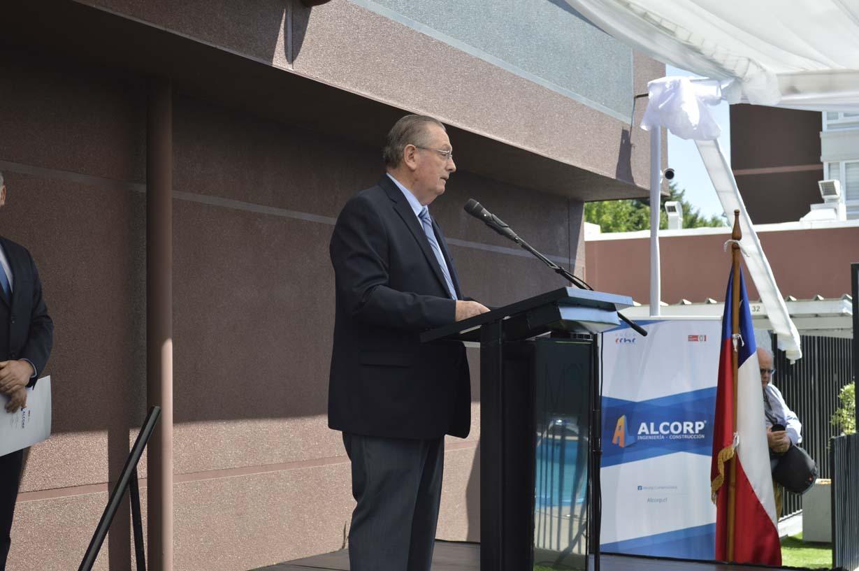 Ariel Larenas, gerente general Constructora Alcorp