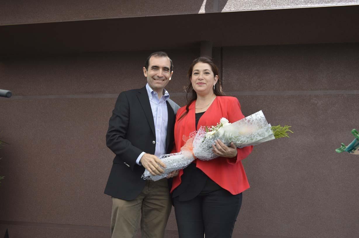 José Luis Larenas y Carmen Gloria Mella