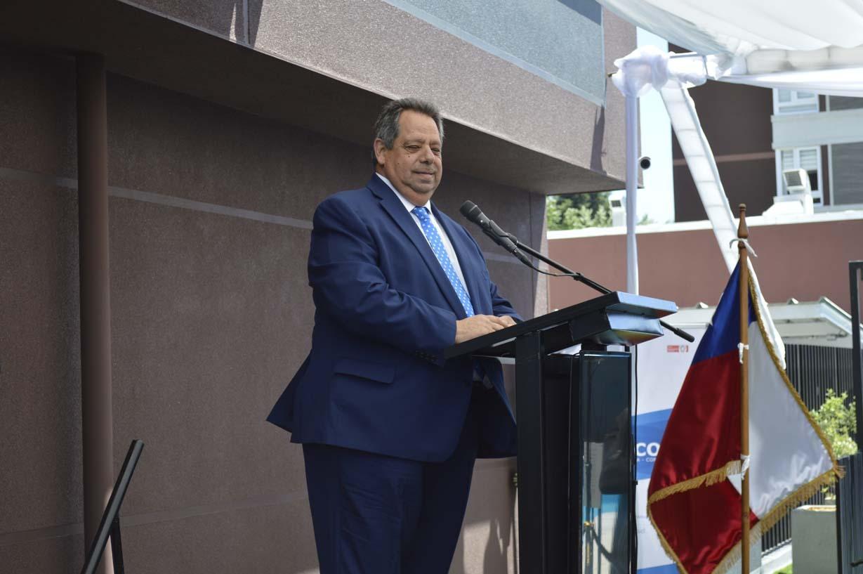 Sergio Zarzar, alcalde de Chillán