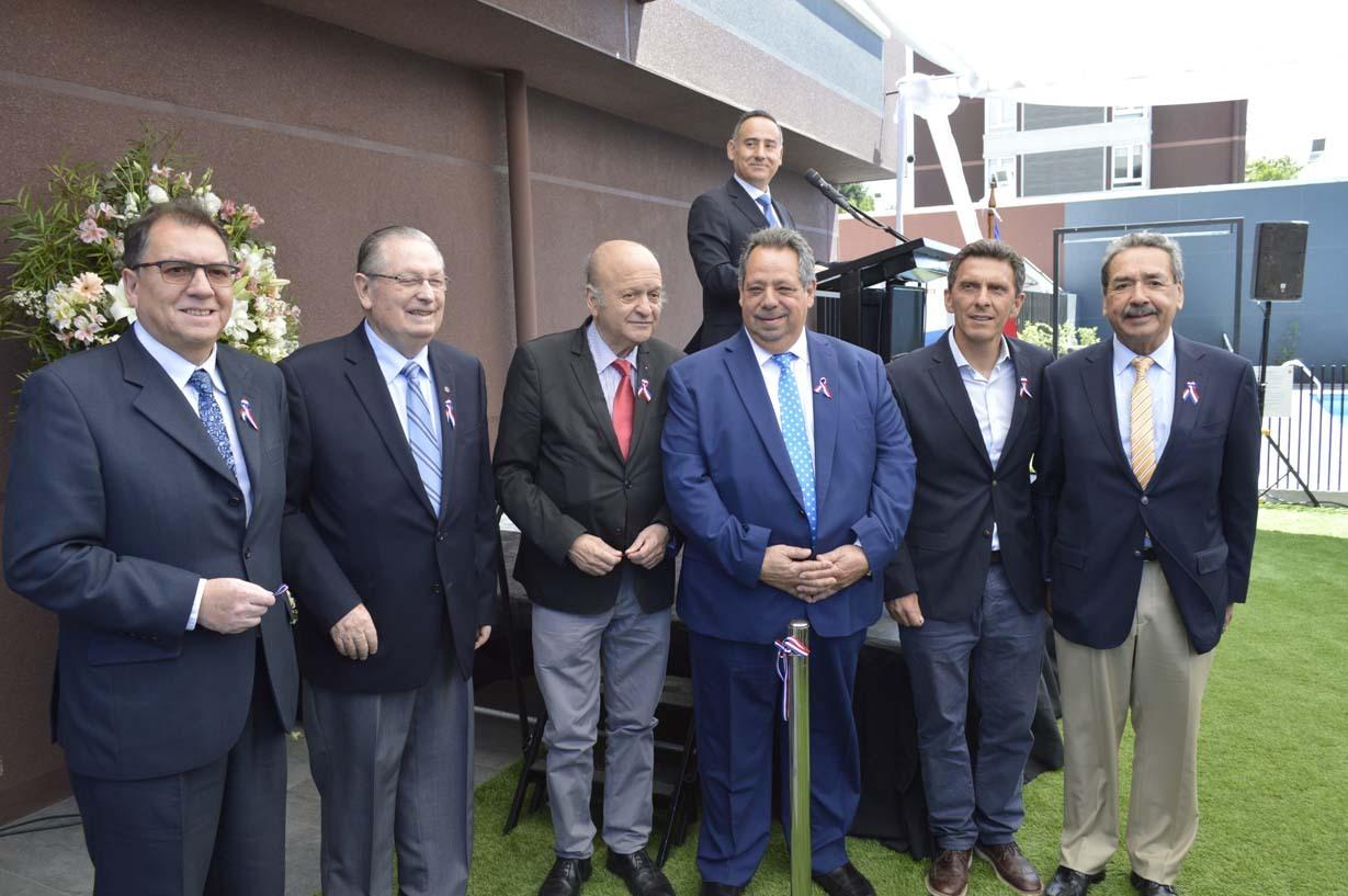 Patricio Huepe, Ariel Larenas, Juan López, Sergio Zarzar, Camilo Benavente y Carlos Abel Jarpa