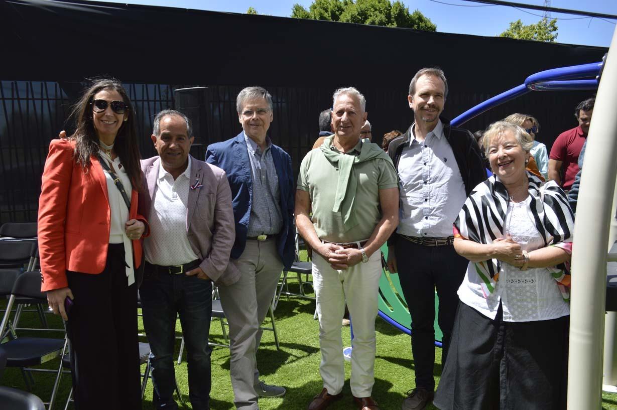 María Teresa Larenas, Juan de Dios Díaz, Ignacio Goldaracena, Mauro Marcovich, Rafael Valiente y Paulina Rodríguez