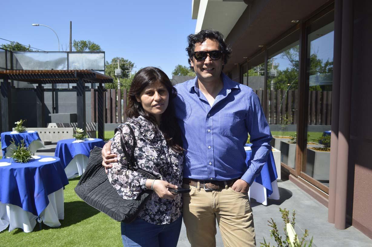 María Inés Godoy y Carlos Reyes