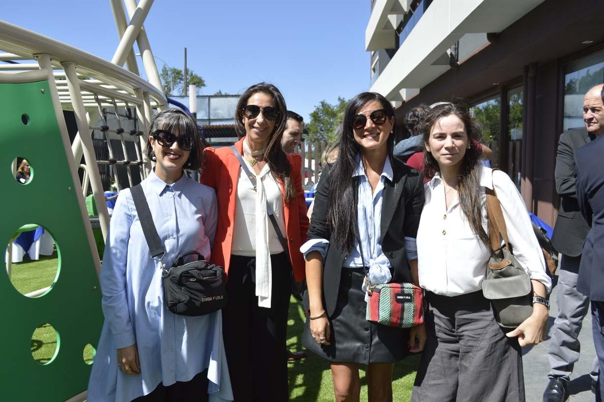 Valentina Cerda, María Teresa Larenas, Pía Cerda y Soledad Yanine