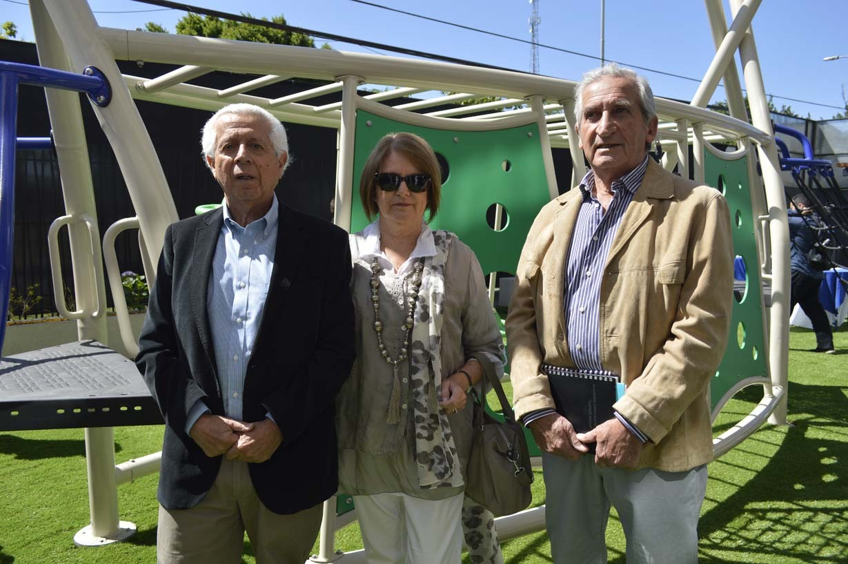 Abraham Cerda, Pilar Martínez y Mario Pantoja