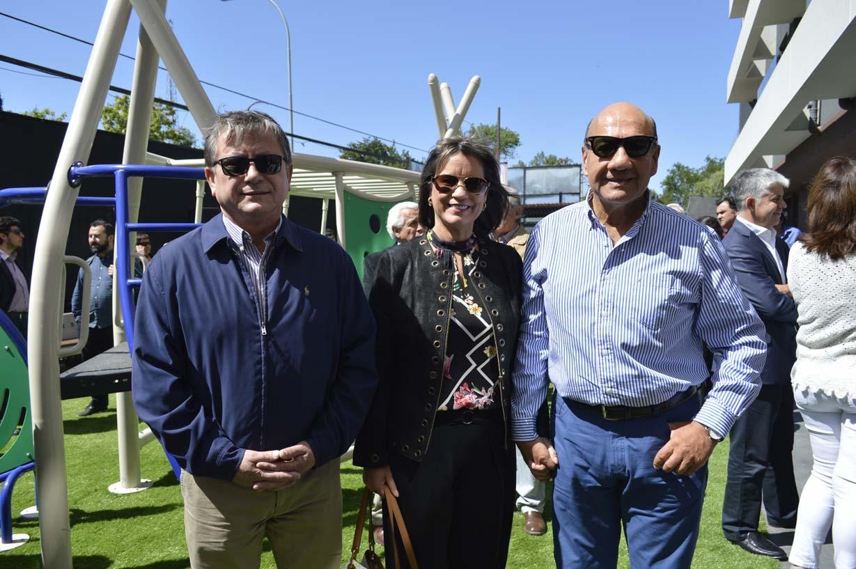 Humberto Navea, Clemira Del Pino y Mario Arriagada