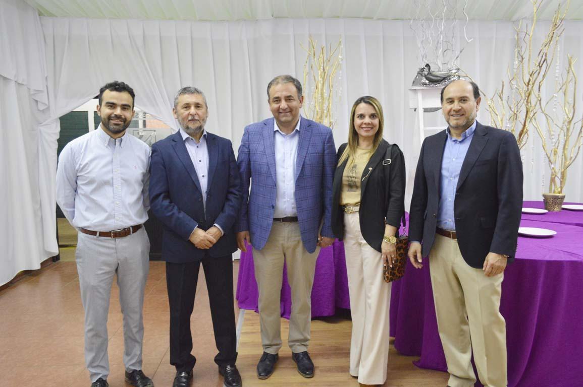 Claudio Garrido, Sergio Reyes, Skandar Hazbún, Paula Peñaloza y Marcelo Herrera