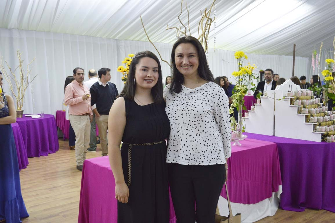Sofía Canaves y Alejandra Nazar