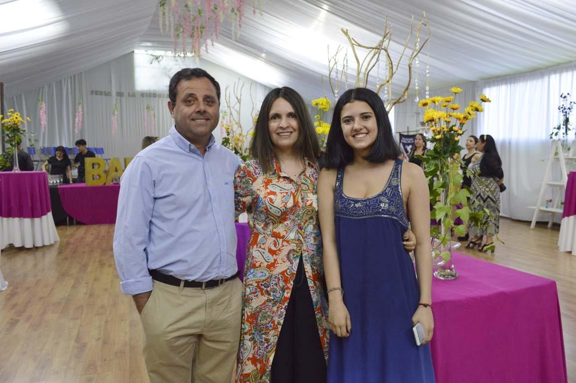 Ramón Cardemil, Paula Céspedes y María Isabel Crino