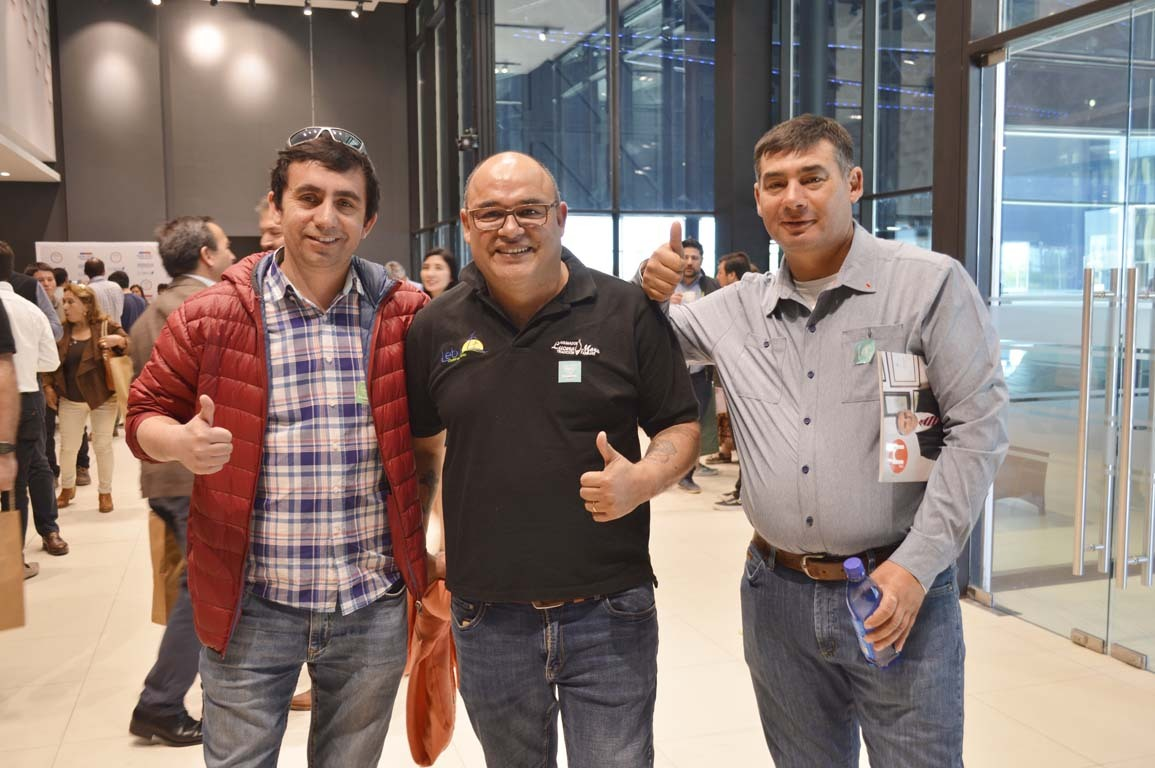 Juan Sepúlveda, Leonel Lucero y Asdrubal Rodríguez