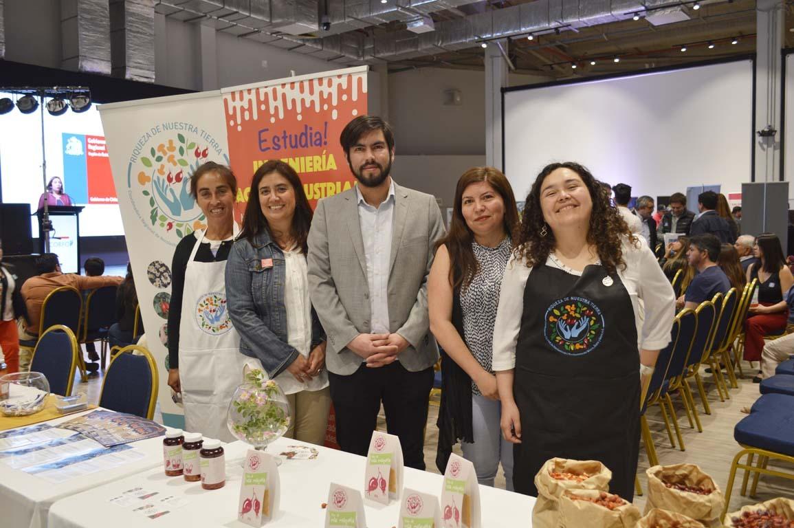 Ana Valverde, María Eugenia González, Nelson Díaz, Ana Valdebenito y Pamela González