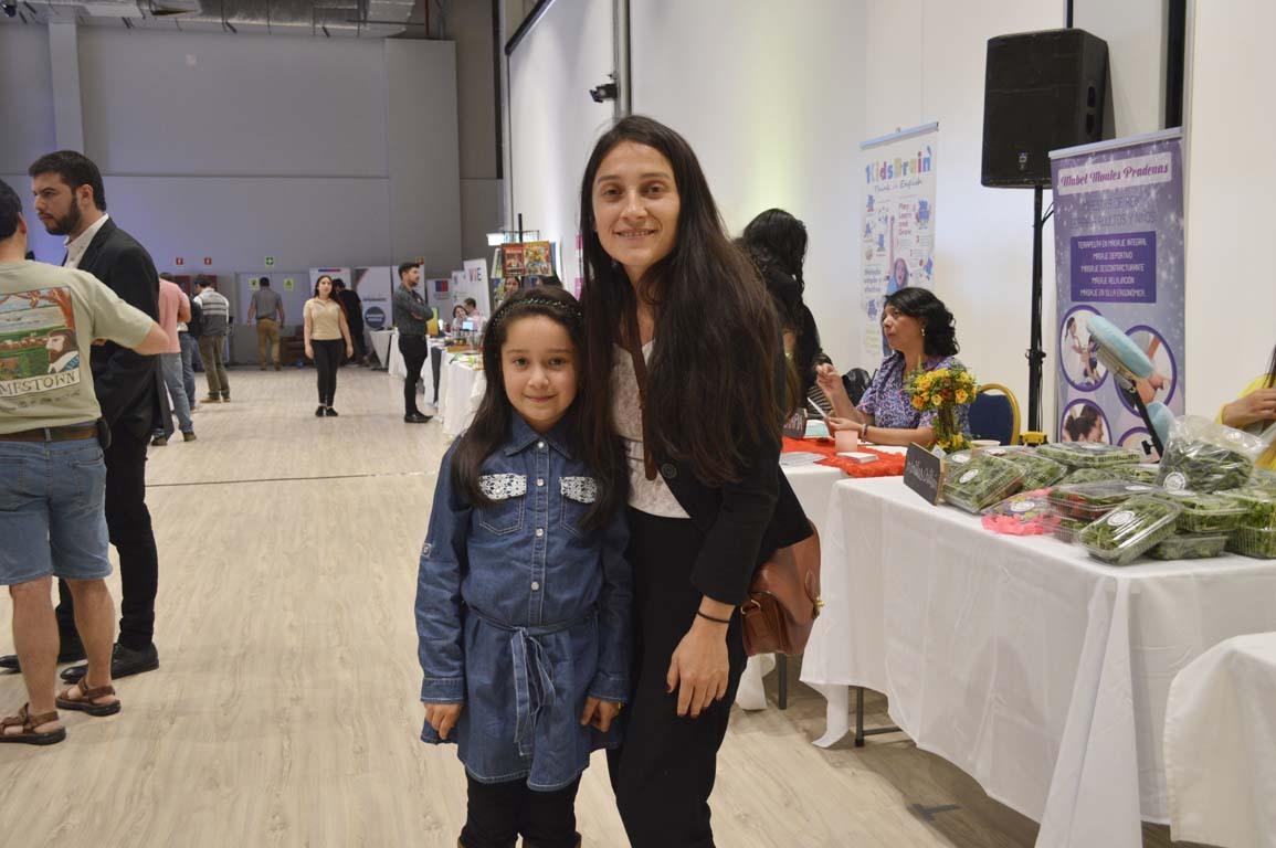 Valentina Villegas y Constanza Sims
